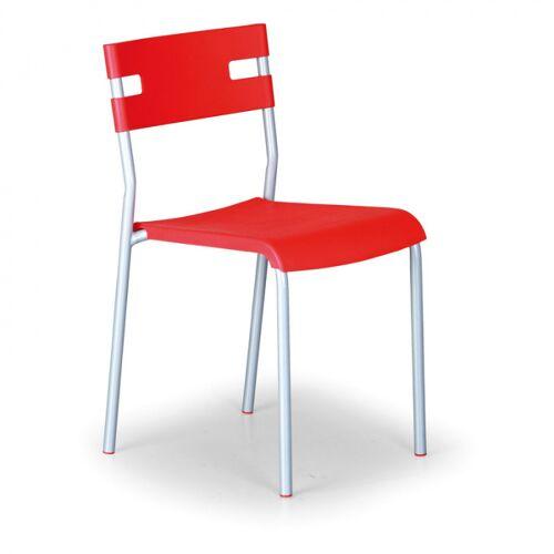B2B Partner Krzesło kuchenne lindy, czerwony