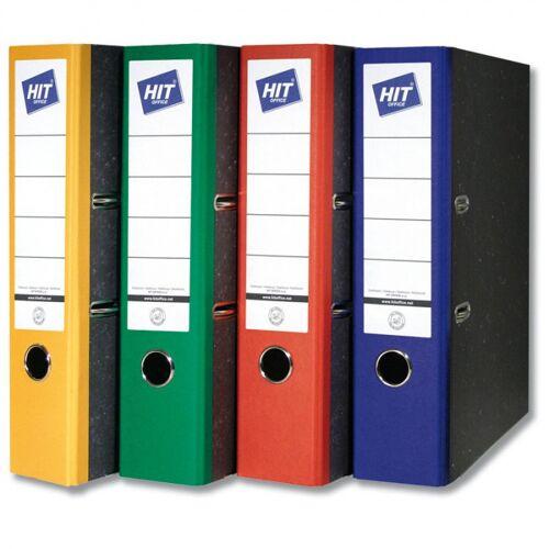 HIT Office Kolorowe segregatory dźwigniowe - szerokość 7,5 cm