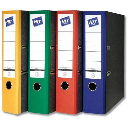 HIT Office Kolorowe segregatory dźwigniowe - szerokość 5 cm