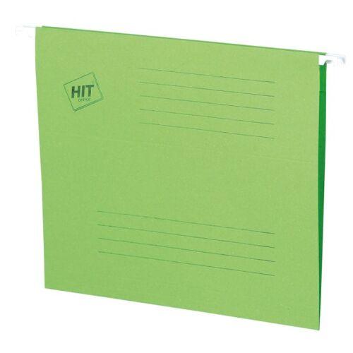 HIT Office Teczki zawieszane a4, zielone, 50 szt.