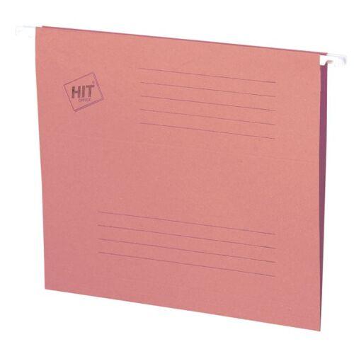 HIT Office Teczki zawieszane a4, różowe, 50 szt.