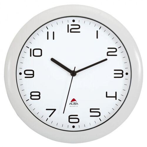 B2B Partner Zegar ścienny biały, czarne elementy