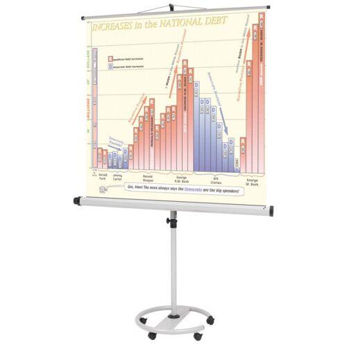 B2B Partner Mobilny ekran projekcyjny na statywie, 1500 x 1500 mm