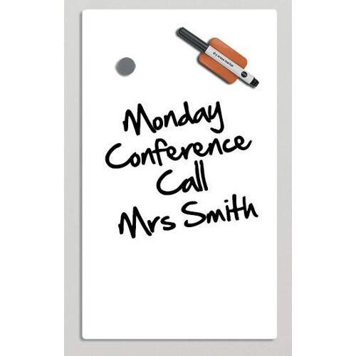 Bi-Office Szklana tablica do pisania, 78x48 cmm, biała
