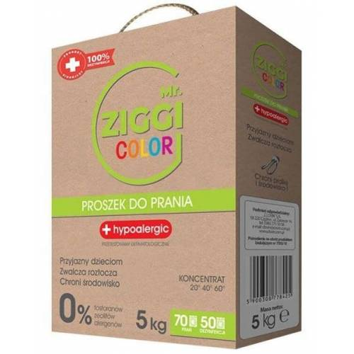 Mr. ZIGGI Color proszek do prania 5kg
