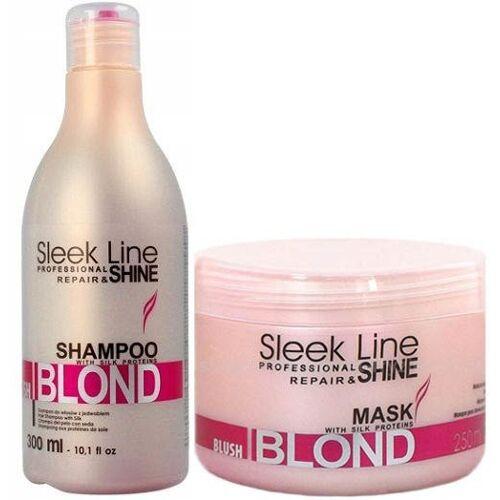 Stapiz Blush Blond Zestaw Szampon 300 ml Maska 250 ml