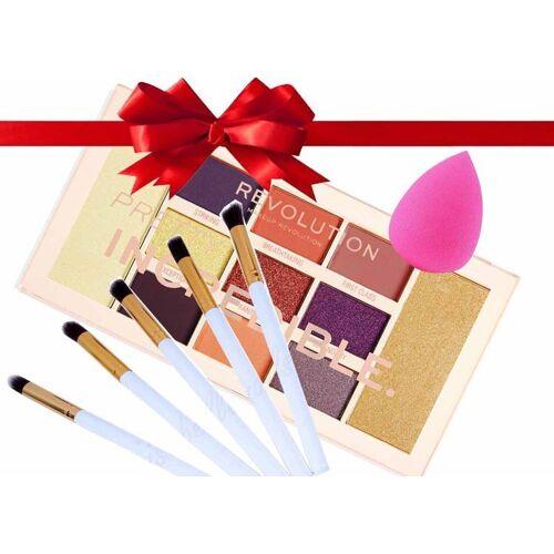 Makeup Revolution Zestaw do makijażu z paletą Makeup Revolution M1