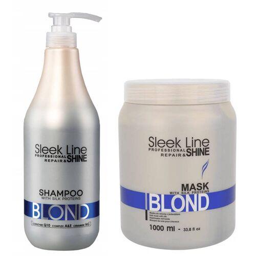 Stapiz Blond Zestaw Szampon 1000 ml Maska 1000 ml