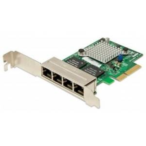 Supermicro Karta sieciowa 4-port GbE RJ-45 Intel i350 PCI-E AOC-SGP-I4