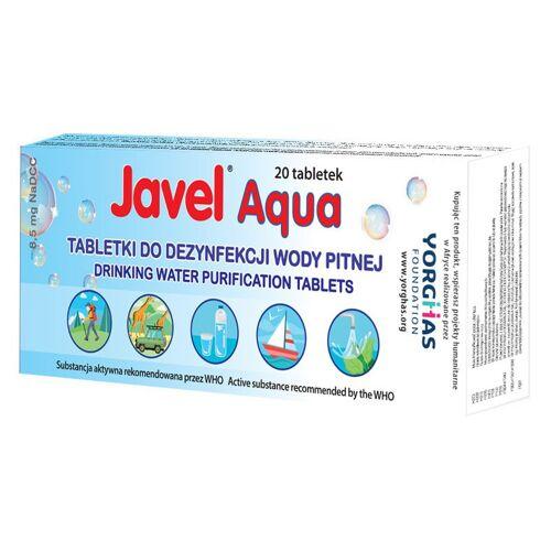 JAVEL Tabletki do uzdatniania wody AQUA z torebką