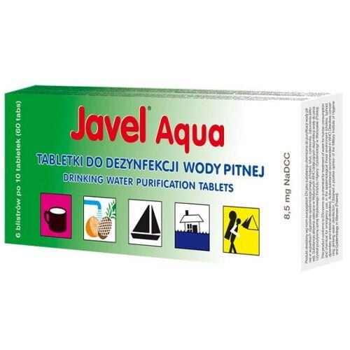 JAVEL Tabletki do uzdatniania wody