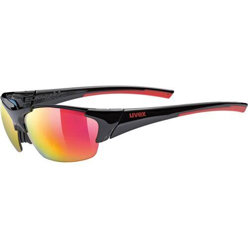 UVEX Okulary BLAZE III 2.0 black red