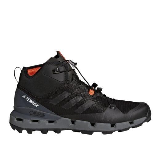 Adidas Buty męskie TERREX FAST MID GTX-SURROUND-Czarny-8,5UK