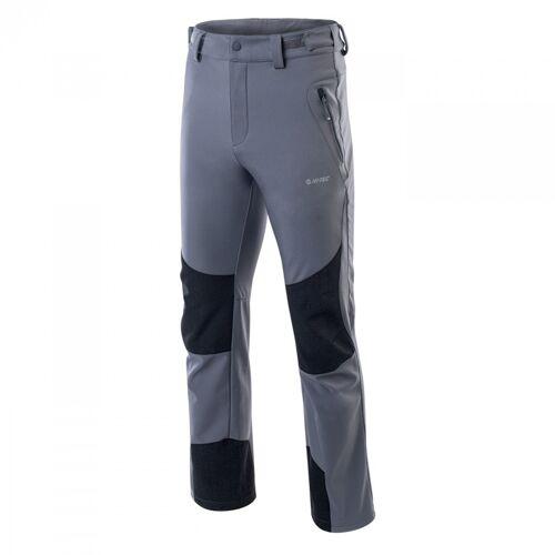 HI-TEC Spodnie softshellowe męskie ERIK-XXL-Szary