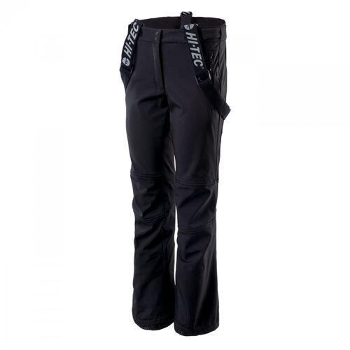 HI-TEC Spodnie softshellowe damskie LADY LERMO-M-Czarny
