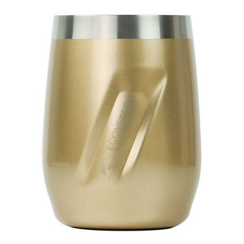 ECOVESSEL Kubek PORT WINE TUMBLER 296 ml-Złoty