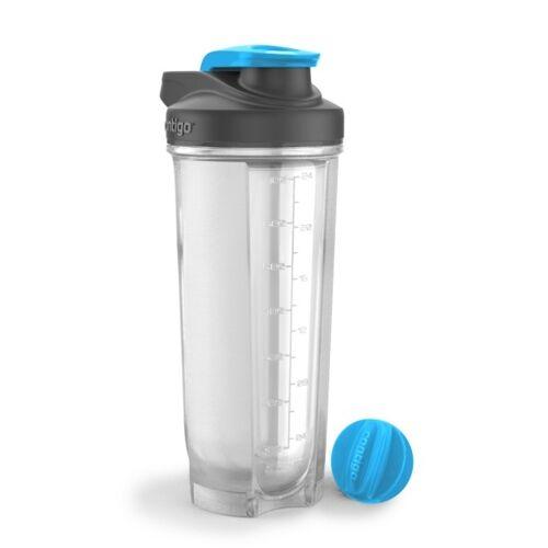 CONTIGO Shaker do odżywek SHAKE&GO; FIT 820 ml-Czarny