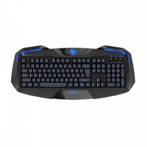 E-BLUE Klawiatura przewodowa E-Blue Auroza Gaming LED czarna