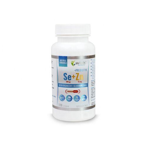 VIVIO Selen organiczny 200mcg+cynk 15mg -120kap. WISH