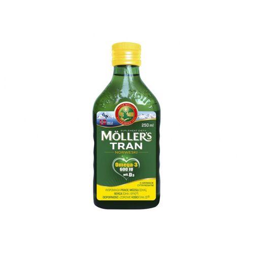 VIVIO Tran Norweski cytrynowy 250ml Moller's