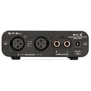 SMSL Wzmacniacz słuchawkowy SMSL SAP-9 Blanced Amplituner Czarny