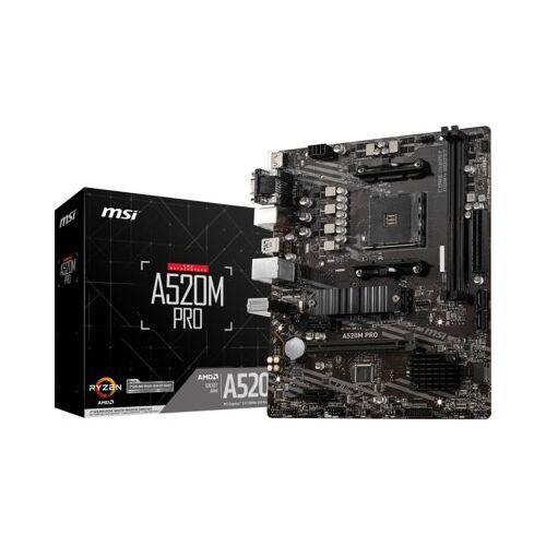 MSI Płyta główna MSI A520M Pro