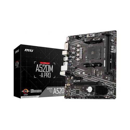 MSI Płyta główna MSI A520M-A Pro