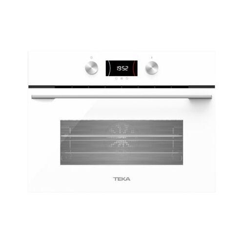 TEKA Piekarnik TEKA HLC 8440 C WH Elektryczny z mikrofalą Białe szkło