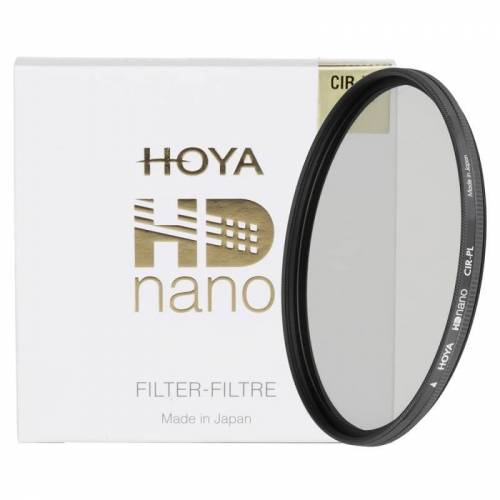 Hoya Filtr polaryzacyjny Hoya HD Nano CIR-PL 72mm