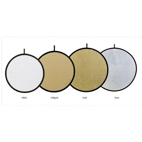 Fomei blenda 5w1 100cm srebrna, biała, czarna, złota, dyfuzor