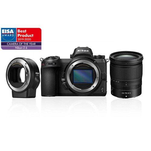 Nikon Z6 + 24-70mm f4 + FTZ adapter