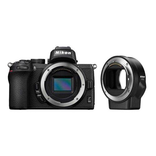 Nikon Aparat cyfrowy bezlusterkowiec Nikon Z50 + FTZ