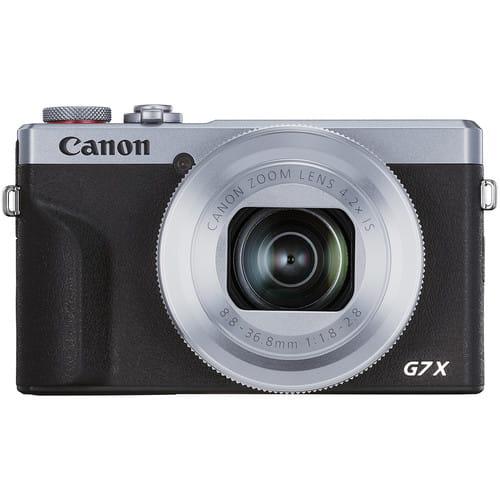 Canon Aparat Canon PowerShot G7 X Mark III - srebrny