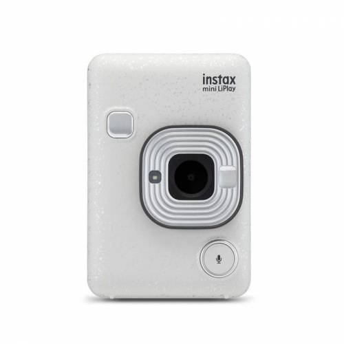 Fujifilm Hybrydowy aparat Instax mini Liplay - biały + 5 pocztówek dźwiękowych
