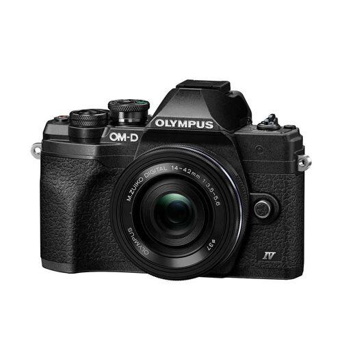 Olympus Aparat Olympus OM-D E-M10 Mark IV czarny + ED 14-42mm F3.5-5.6