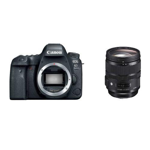 Canon Lustrzanka Canon EOS 6D mark II + Sigma 24-70 mm f/2.8 A DG OS HSM