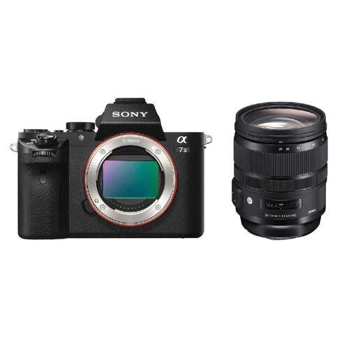 Sony Aparat cyfrowy Sony A7 II - ILCE7M2B + Sigma 24-70mm f/2.8 DG DN ART