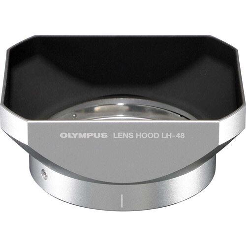 Olympus Osłona przeciwsłoneczna Olympus LH-48 (srebrna)
