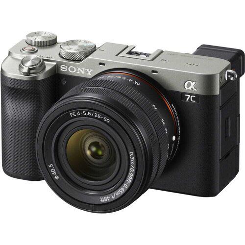 Sony Aparat cyfrowy Sony A7C srebrny + FE 28-60mm F4-5.6 ILCE-7CL