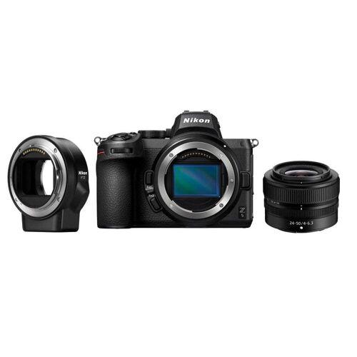 Nikon Aparat cyfrowy Nikon Z5 + Nikkor Z 24-50 mm f/4-6.3 + FTZ