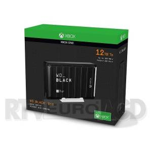 WD BLACK D10 Game Drive for Xbox One 12TB