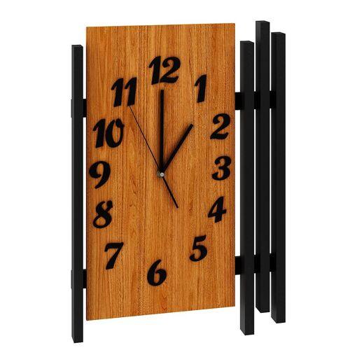 Producent: Elior Zegar ścienny drewniany Tempo - dąb