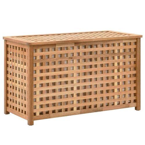 Elior Skrzynia na pranie z drewna Kastilo 2X