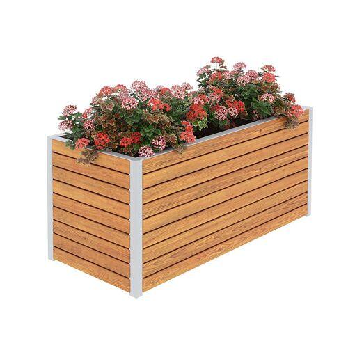 Producent: Elior Drewniana skrzynka ogrodowa Zeris - 24 kolory