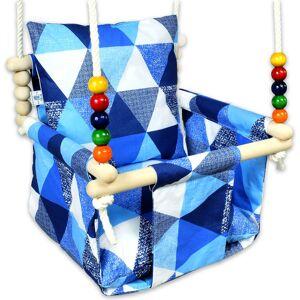 Elior Niebieska kubełkowa huśtawka dla dziecka - Ankara