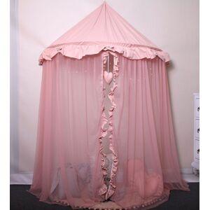 Producent: Elior Różowy baldachim dla dziewczynki z oświetleniem LED - Sentopia 4X