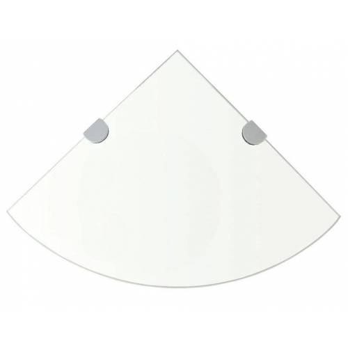 Elior Półka narożna ze szkła hartowanego Gaja 3X