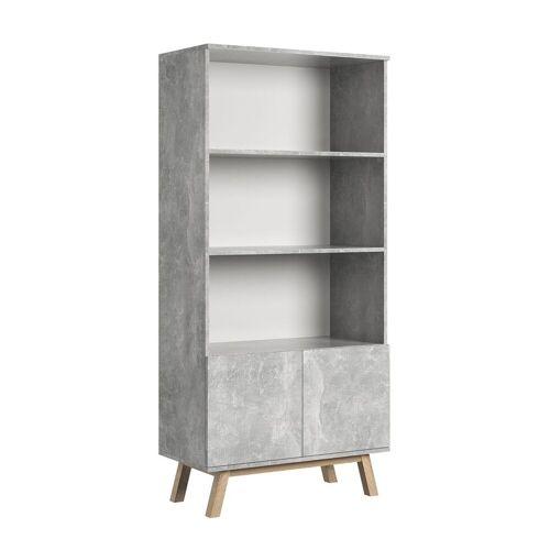 Producent: Elior Designerski regał Ukla - beton