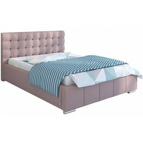 Elior Pojedyncze łóżko pikowane 120x200 Elber 3X - 48 kolorów