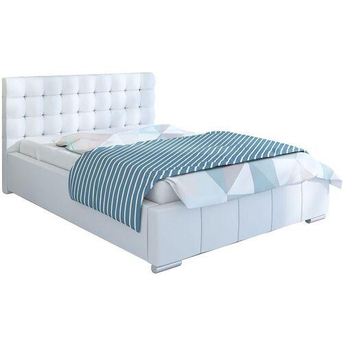 Elior Pikowane łóżko ze schowkiem 180x200 Elber 2X - 48 kolorów